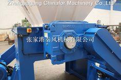 CE approved twin shaft shredder machine with CE/plastic crusher machine/pp pe film twin shaft shredder