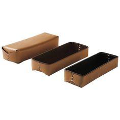 """""""Astuccio"""" Leather Case Designed by Oscar Maschera For Sale"""
