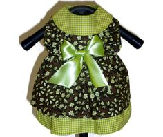 XXSMALL Ready Made Little Dog Clothes Dress in by SofiandFriends, $21.95