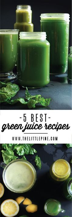 5 Delicious Green Juice Recipes - Guaranteed to turn anyone into a veggie lover…