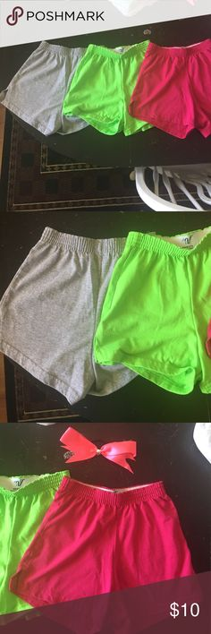 Bundle of Varsity Cheer Soffee Shorts! Reposting because I got a big bundle and only wanted certain colors 🤗 All three are size xs and in perfect condition Soffe Shorts