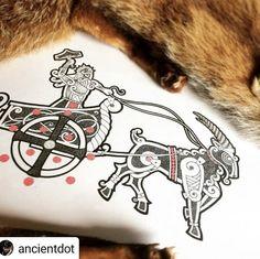 Rune Tattoo, Norse Tattoo, Celtic Tattoos, Viking Tattoos, Arte Viking, Viking Art, Body Art Tattoos, 3d Tattoos, Tattoo Ink