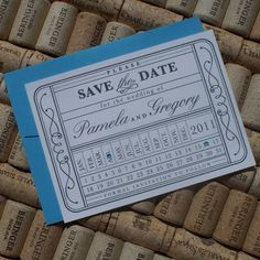 Mariages Rétro: Faire-parts et Save the date