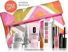 Free 8-piece gift at Fenwick and Bentalls in the United Kingdom.