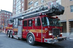 toronto fire apparatus | Toronto Fire Tower 333
