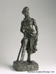 Honoré Daumier, Siot-Decauville Ratapoil vers 1851 statuette en bronze patiné H. 0.435 ; L. 0.157 ; P. 0.185 musée d'Orsay, Paris, France