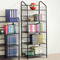 Shop Coaster Fine Furniture  2895 5-Tier Metal Bookshelf at The Mine. Browse our bookcases, all with free shipping and best price guaranteed.