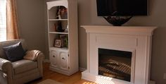 Home Decor, Featured Fireplace Best Concepts Picture White Color Style Picture Example Best Concepts Building A Fireplace Surround White And Well Style Room At Home Wall ~ Let's To Make The Nice Style Of Building A Fireplace Surround That Looks Beautiful As Your Well Style Of Room At Home