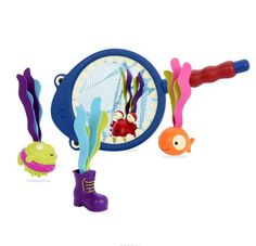 B.Dot Набор игрушек для ванной Акула
