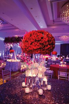 purple and red wedding | Memorable Milestones: COLOR INSPIRATION ...