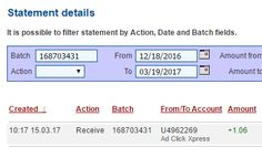 Sick of the sight of google and mozilla, do you want a new search engine? Proceed to use ACX a search engine and be paid daily for your search, this is my proof of payment with ACX a search engine! You can MAKE MONEY ONLINE just by working for 10 to 15 minutes daily at Ad Click Xpress. It is very easy to MAKE MONEY ONLINE at Ad Click Xpress. ACX is PAYING DAILY to its customers. This is NOT SCAM because I am getting paid daily at ACX and I can withdraw my daily earning any time I wish.