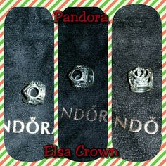 Pandora Charm Pandora Disney Frozen's Elsa Crown Pandora Jewelry Bracelets