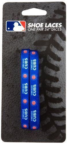 MLB Chicago Cubs 54-Inch LaceUps Shoe Laces by UPI Marketing, Inc.. $5.00. MLB officially licensed product. Customize your favorite shoes. Innovative new product. UPI Marketing LaceUps-54 inch shoe laces featuring team logo.