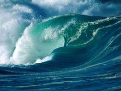 As ondas contrabalançam o planeta.