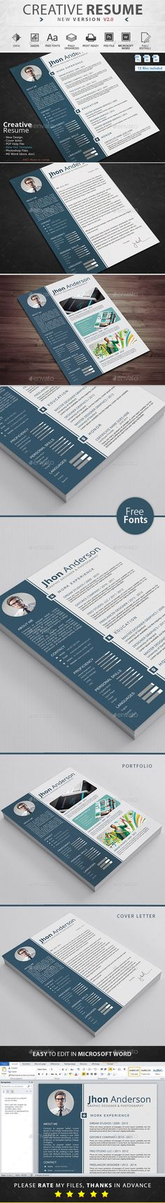 Resume  Cv Template  Cv Template Resume Cv And Simple Resume