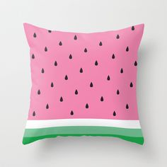 Cutest watermelon pillow