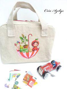 valisette des petits riens pour chambre d'enfant de Mélanie Voituriez version d'azelys Reusable Tote Bags, World Animals, Child Room, Bag