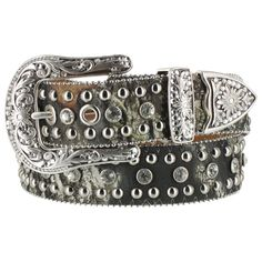 Mossy Oak by Nocona Women's Stud and Rhinestone Camo Western Belt- gotta have the camp ;)