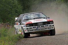 Latvala and Hirvonen - Audi - Lahti Historic Rally