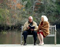 The Notebook - James Garner and Gena Rowlands -- LOVED  this movie. Reminded me of my folks w/o the alzheimers.
