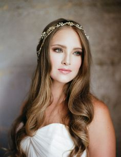 soft romantic bridal look