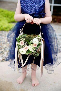 Glamour flower girl
