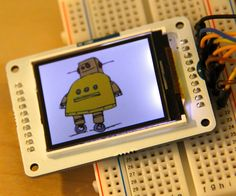Have you ever heard of TFT LCD screens? They are great ways to display information from your Arduino, or display pictures. The Arduino team just rel. Electronics Projects, Computer Projects, Led Projects, Hobby Electronics, Arduino Projects, Circuit Projects, Projects To Try, Simple Projects, Arduino Lcd