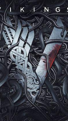 From Vikings - Seasons [dvd] Vikings Ragnar, Real Vikings, Viking Logo, Viking Symbols, Viking Runes, Vikings Tv Series, Vikings Tv Show, Vikings Season 1, Billie Eilish Ocean Eyes