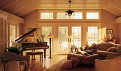 Call Renewal by Andersen Sacramento today to schedule a free in-home consultation for replacement hinged French patio doors for your home. French Patio, French Doors Patio, Interior Barn Doors, Exterior Doors, Country Interior, French Interior, Hinged Patio Doors, Luz Solar, Interior Design Colleges