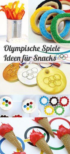 Süße Snack Ideen für die Olympischen Spiele // #Olympia #Olympische Spiele…