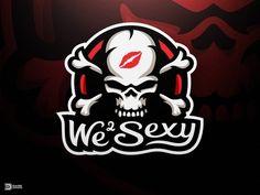 We 2 Sexy Mascot Logo Design