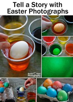 Tell a Story with Easter Photographs – plus how to tie-dye eggs | Boost Your Photography