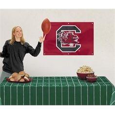 University of South Carolina Gamecocks Tailgating Supplies Fan Party Kit