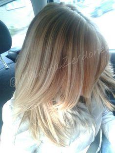 summer hairstyle , high+lowlights!