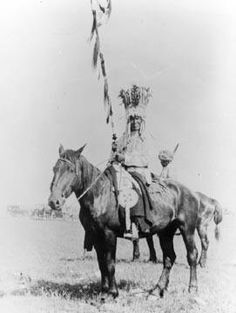 Sitting Eagle (a member of the Horn Society) - Blackfoot - 1903