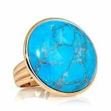 Turquoise blue stone