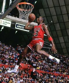 NBA Dunks | NBA Dunk Contest Winners - Michael Jordan