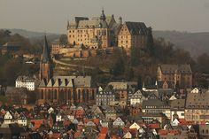 Marburg, Germany-used to live 20 minutes away by train, I miss wandering this village!