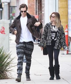 Ashley Tisdale Walked With Her Husband - http://oceanup.com/2014/12/15/ashley-tisdale-walked-with-her-husband/