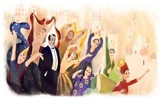 Who was #SergeiDiaghilev? Trailblazer, visionary and ballet pioneer #SergeiDiaghilevsGoogleDoodle #Famouscollaborations