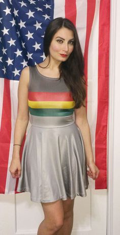 Wesley Crusher Dress by CrowdedThoughts on Etsy