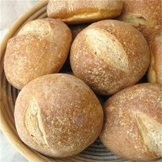 Picture  MY RECIPE FOR PORTUGUESE CRUSTY ROLLS,  WITH SOURDOUGH STARTER.   WWW.MYPASSIONFORPORTUGAL.COM