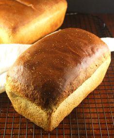 The Best Sourdough Sandwich Bread, yeast-free – Holy Cow! Vegan Recipes The Best Sourdough Sandwich Bread, yeast-free – Holy Cow! Sandwich Bread Recipes, Sourdough Sandwich Bread Recipe, Wild Yeast Bread Recipe, Bread Recipes With Yeast, Soft Sourdough Bread, Homemade Bread Without Yeast, Yeast Free Breads, Vegan Sandwiches, Homemade Breads
