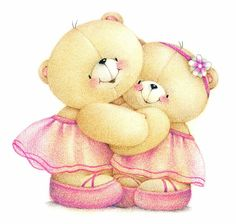 26 Ideas For Birthday Happy Sister Religious Beautiful Tatty Teddy, Cute Images, Cute Pictures, Happy Sisters, Teddy Bear Pictures, Blue Nose Friends, Clip Art, Hello Kitty Plush, Love Bear