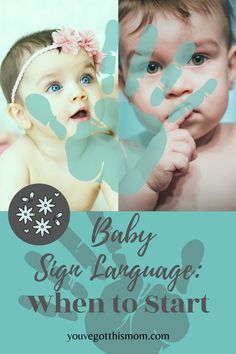 Ever wondered how to teach your baby sign language? Here are simple and easy instructions using ASL signs such as milk, food, all done, thank you, and please.