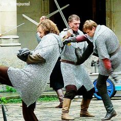 """""""Everybody was kung fu fightin! They all ran when Merlin summoned lighting!"""" XD Sorry, sorry, sorry"""