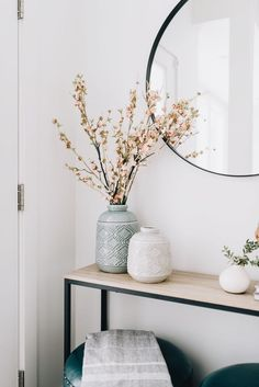 vintage home vase flower corner living entrance