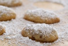 Sand Tarts are simple, delicious cookies made with just a handful of ingredients.