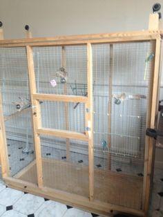 Wooden Bird Aviary                                                       …