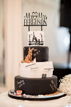 32 Incredible Wedding Cakes from Irish Cake Makers Creative Wedding Cakes, Wedding Cake Designs, White Wedding Cakes, Beautiful Wedding Cakes, Irish Cake, Cake Accessories, Couture Cakes, Personalized Wedding Cake Toppers, Top Wedding Photographers